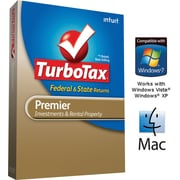 TurboTax Premier Fed + Efile + State 2011 for Windows and Mac [Boxed CD]