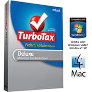 TurboTax Deluxe Fed + Efile + State 2011 for Windows and Mac [Boxed CD]