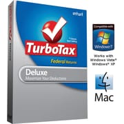TurboTax Deluxe Federal with E-File 2011 for Windows and Mac [Boxed CD]