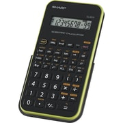 Sharp EL501WBBL LCD Display Scientific Calculator