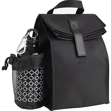 Lunch Bag with Aluminum Water Bottle