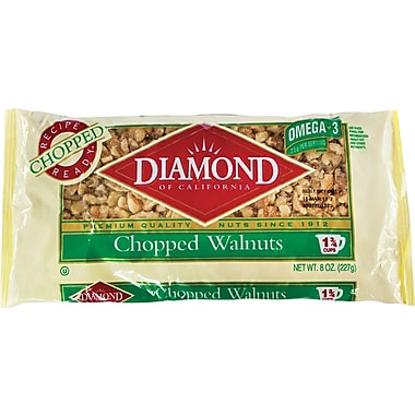 Diamond Chopped Walnuts, 8 oz.
