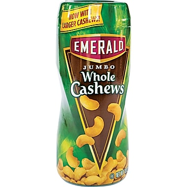 Emerald® On-the-Go Jumbo Whole Cashews, 10 oz.
