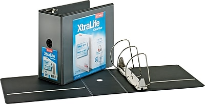 Cardinal XtraLife ClearVue 6-Inch 3-Ring View Binder (26361)