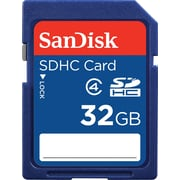 SanDisk SDSDB-032G-A46 Standard SD/SDHC 32GB Card Class 4 Flash Memory Card