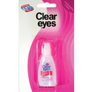 Clear Eyes Travel Size Eye Drops, 6 Packs