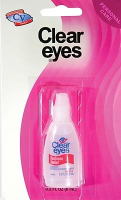 Clear Eyes Travel Size Eye Drops, 6 Packs
