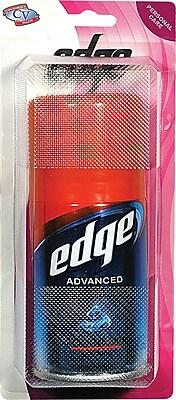 Edge Travel Size Shaving Gel, 2 Packs