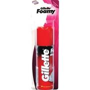Gillette Travel Size Foaming Shaving Cream, 2 Packs/Box