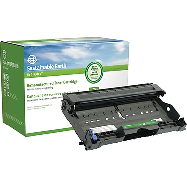 Staples® Sustainable Earth Reman Drum Cartridge, Brother DR-350 (SEBDR350R)