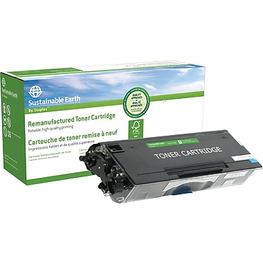 Sustainable Earth by Staples Reman Black Toner Cartridge, Brother TN-550 (SEBTN550R)