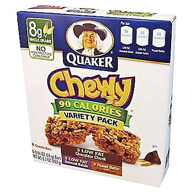Quaker® Chewy® Granola Bars, 8 Bars/Box