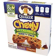 Quaker® Chewy® Chocolate Chip Granola Bars, .84 oz. Bars, 8 Bars/Box