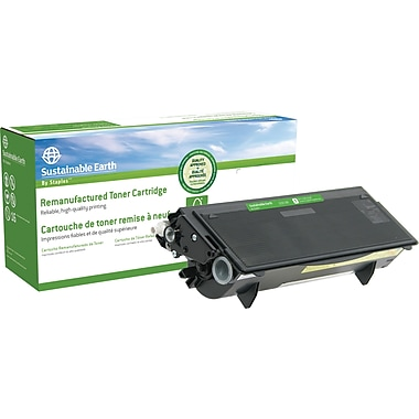 Sustainable Earth by Staples Reman Black Toner Cartridge, Brother TN-570, High-Yield (SEB570R)