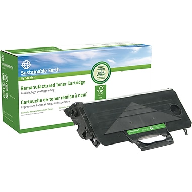 Sustainable Earth by Staples Remanufactured Black Toner Cartridge, Brother TN-330
