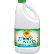 Clorox® Green Works™ CLO30647 Naturally Derived Chlorine-Free Bleach, 60-oz. Bottle