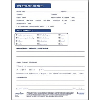 ComplyRight Employee Absence Report Form