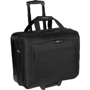 Targus® Rolling Travel Laptop Case, Black 17""