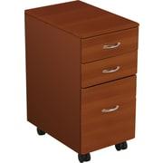 Balt® iFlex™ Balt iFlex 3-Drawer Mobile File Cabinet, Cherry, Letter/Legal (90005)