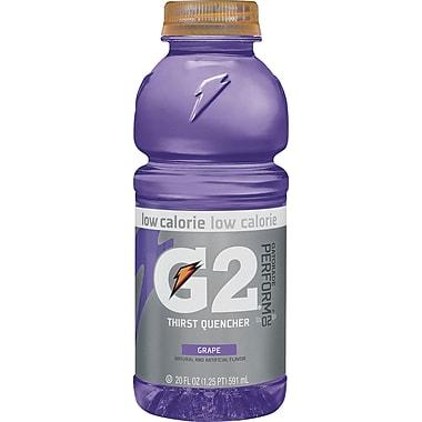 Gatorade® G2 Grape, 20 oz. Bottles, 24/Case