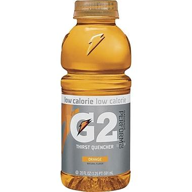 Gatorade® G2 Orange, 20 oz. Bottles, 24/Case