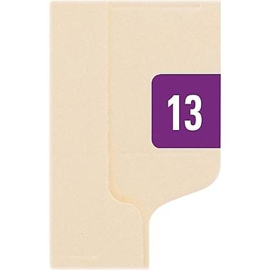 Smead Year 2013 End Tab Folder Labels, 1/2