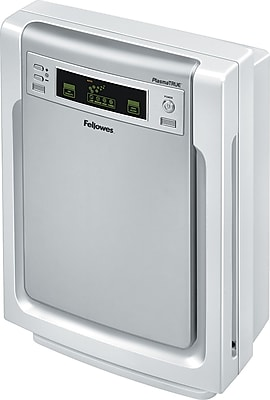 Fellowes AP-300PH Air Purifier, Silver/White
