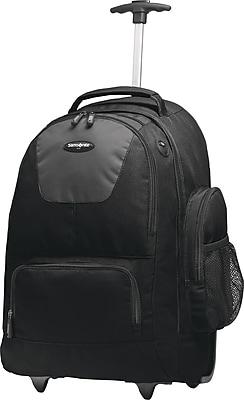 Samsonite® Wheeled Backpack, Black, 21