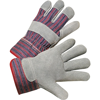 Anchor Brand Premium Quality Welding Gloves, Split Cowhide, Leather Cuff, Large, Bucktan, 12 Pairs