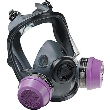 North Safety Full Facepiece Respirator, Medium/Large, Elastomer