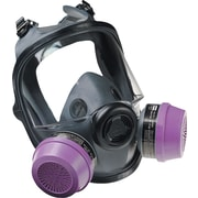 North Safety Full Facepiece Respirator, Medium/Large, Elastomer