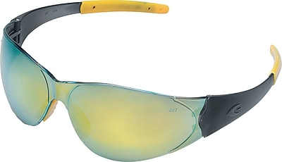 MCR Safety® Checkmate®2 Crews ANSI Z87 Safety Glasses, Anti-Fog, Clear