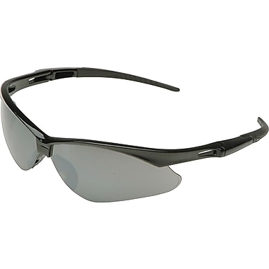 Jackson Safety V30 Nemesis Safety Glasses, Indoor/Outdoor Lens, Black Frame (25685)