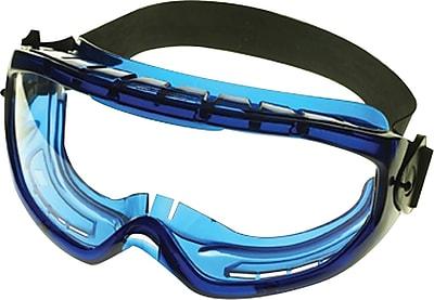 Jackson® Monogoggle™ XTR™ Safety Goggles, Polycarbonate, Anti-Fog, Blue