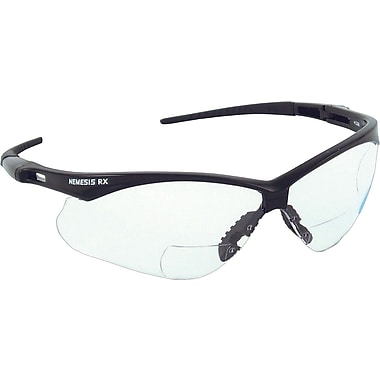 Jackson® Nemesis™ RX ANSI Z87 Safety Glasses, Clear, 3.0 Diopter