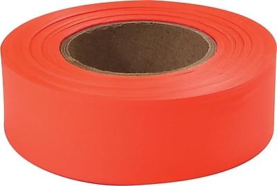 Empire® Level Flagging Tapes, Fluorescent Glo-Orange, 200' Length