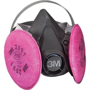 3M OH&ESD Half Facepiece Respirator Assembly, P100, Large