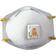 3M™ N95 Maint. Free Particulate Respirator, 80/Pack