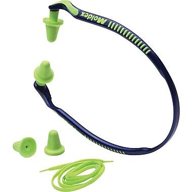 Moldex® Jazz Band® Banded Earplugs; Blue, 25 dB, 10/Box