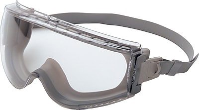 Sperian Stealth® Goggles, Polycarbonate, Uvextreme, Gray