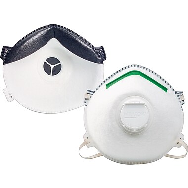 Sperian® Half Facepiece Premium Particulate Respirators, N95, Aerosols Free of Oil, Medium/Large
