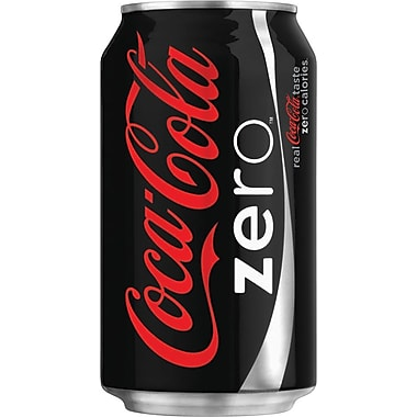 Coca Cola® Zero 355mL Cans, 12-Pack