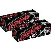 Coca-Cola Zero Sugar Diet Cola Soda, 12 Oz., 24/Carton (00049000042559)