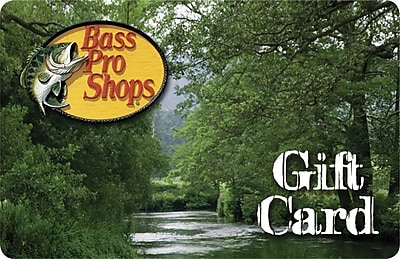 Bass Pro Shops Gift Card $50 (Email Delivery)