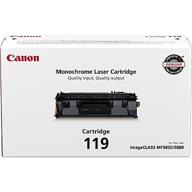 Canon® 119 Black Toner Cartridge (3479B001)