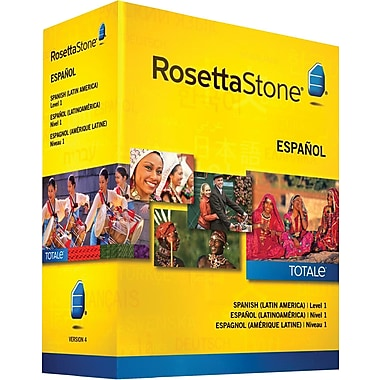 Rosetta Stone® Spanish Latin America, Level 1