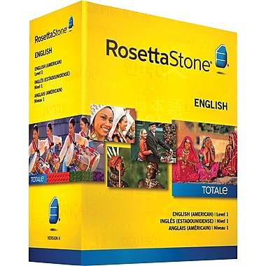 Rosetta Stone® - English Level 1 (Anglais, niveau 1)