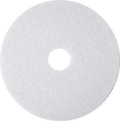 3M White Super Polish Floor Pads 4100, 19