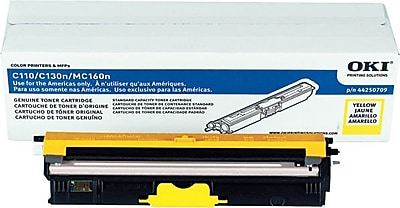 Okidata Yellow Toner Cartridge (44250709)