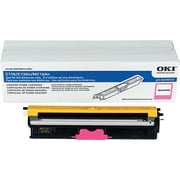 Okidata Magenta Toner Cartridge (44250714), High Yield